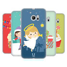 HEAD CASE DESIGNS JOLLY CHRISTMAS TOONS SOFT GEL CASE FOR HTC PHONES 1