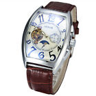 Mechanical Automatic gents Wrist watch Sewor Fashion Mens Moon Phase Tonneau 577 image