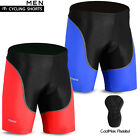 Mens Cycling Shorts Lycra  MTB Bike Bicycle Tights Coolmax Padded