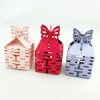 Happiness Butterfly Top Laser Cut Candy Party Wedding Favour Sweets Boxes Gift
