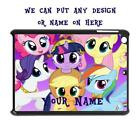 PERSONALISED IPAD TO FIT 2 3 4 5 AIR CASE COVER MY LITTLE PONY INSPIRED