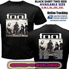Rare BAND TOOL TOUR DATES Worldwide 2017 BLACK T-shirt Size S to 5XL
