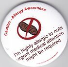Allegry Awareness,  I am highly allergic to nuts, medical attention required