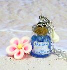 Disney Moana Inspired Seashell Ocean Bottle Necklace Costume ~ sea it calls me