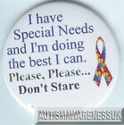 Special Needs Badges, I have special needs and I'm doing the best I can