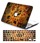 """Rubberized Pattern Hard Case Keyboard cover for Macbook 11""""13""""15 Pro Air Retina"""