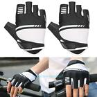 Unisex Men Antiskid Gel Pad Half Finger Outdoor Sports Cycling Racing Gloves