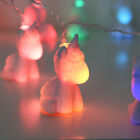 CHILDREN'S BATTERY OPERATED KIDS UNICORN CHRISTMAS LED FAIRY STRING NIGHT LIGHTS