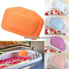 Comfort Spongy Cushion Relaxing Bathtub Bathroom Pillow Spa Head Neck Rest Foam