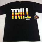 Trill Houston Texas Black Shirt L-3XL One Deep Piranha Records