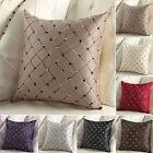 Multicolored Sofa Plaid Bed Cover-Home Square Throw Case Decor Cushion Pillow