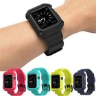 Silicone Replacement Sport Wrist Bracelet Strap Band For Apple Watch3 38mm 42mm
