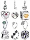 New Hot Sale 925 Silver European Charms Beads Rings Fit Bracelet Snake Chain UK