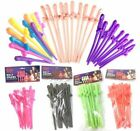 HEN NIGHT BRIDE TO BE WILLY STRAWS DICKY FUN 12 COLORS PINK GLOW IN THE DARK RED