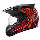 Icon Variant Cottonmouth Helmet, Red - All Sizes!