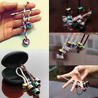 Thumb Chuck Bundle Control Fidget Roll Knuckles Finger Ball Anti Stress Colorful