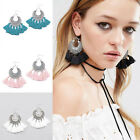 Bohemian Vintage Long Tassel Fringe Boho Dangle Earrings Women Jewelry