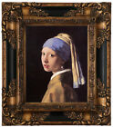 Kyпить Vermeer The girl with a pearl earring Wood Framed Canvas Print Repro 8x10 на еВаy.соm