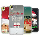 HEAD CASE DESIGNS CHRISTMAS CAROLS HARD BACK CASE FOR HTC DESIRE 650