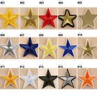 1/10PCS Embroidered Sew On Patches Star Transfer Fabric Bag Clothes Applique