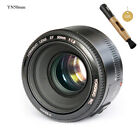 Yongnuo YN35mm 50mm 85mm 100mm EF AF / MF Prime Fixed Lens for Canon EOS Camera