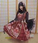 Gorgerous Hanayome Lolita JSK Dress Cute Japan Suspender Sleeveless &Lace Blouse