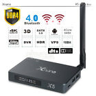Xnano X5 Smart TV BOX Android 6.0 HDMI USB3.0 dual WIFI BT4.0 1000M Media Player