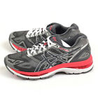 Asics GEL-Nimbus 19 (D) Carbon/Rouge Red/White Width Running Shoes T751N-9719