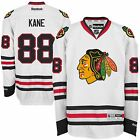 New Mens REEBOK NHL PREMIER JERSEY Patrick Kane White Chicago Blackhawks
