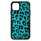 otterbox iphone 5 skins - OtterBox Commuter for iPhone 5 SE 6 S 7 8 PLUS X Teal Black Leopard Skin Spots