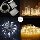 Battery 20 50 100 LED String Copper Wire Fairy Light Xmas Party Fairy Decor Lamp