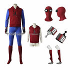 spiderman costume web shooters - Spider-Man Homecoming Cosplay Costume Hoodie Halloween Peter Parker Ouftit Adult