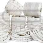 GOLBERG Twisted 100% Natural White Cotton Rope - Several Lengths to Choose From