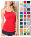 Womens Tank Top Zenana Outfitters Long Cami Spaghetti Strap S/M/L/XL Free Ship
