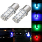 2x 1156 BA15S 18-SMD LED Turn Signal Light Bulbs Daytime Running Backup Reverse