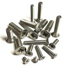 M5 / 5mm A2 Stainless Steel Pozi Countersunk Machine Screws Posi DIN965Z Csk