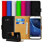 Leather Wallet Book Flip Case Cover Pouch For Samsung Galaxy J3 2016