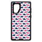 OtterBox Defender for Galaxy Note 5 / 8 Pink Navy Cartoon...