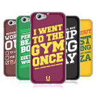 HEAD CASE DESIGNS FUNNY WORKOUT STATEMENTS SOFT GEL CASE FOR HTC ONE A9s