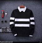 New! Men's O-Neck  Knittin Pull Over Korean Style Sweatshirt (Without Shirt)