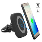 Air Vent Wireless Car Charging Adapter Magnetic QI Wireless Car Charger Mount