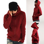 Fashion Mens Hoodie Long Sleeve Sweater Tops Jacket Coat Outwear Thumb Hole K