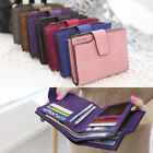 Women Girl Short Wallet Coin Purse Organizer Pocket Small Credit Card Holder Zip
