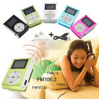 Mini Mental USB Music Clip MP3 Player LCD Screen Support 32GB Micro SD TF Card