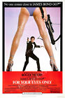 Posters USA - 007 For Your Eyes Only Movie Poster Glossy Finish - MOV196 $16.95 USD on eBay