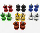 CNC 6mm Swingarm Spools Spool Sliders For RSV4 Factory RSV4 R Tuono 1000 R