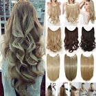 Headband Secret Wire In Hair Extensions Invisible Brown Real As Human hair Fk8