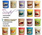 Liberty Candle Votive Wax Scented Candle Sampler Full Range available