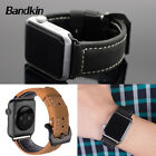 Bandkin Retro Echt Leder Uhren Armband Strap fr Apple Watch Series 3 2 1
