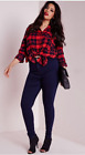 NEW EX NEW LOOK LADIES PLUS SIZE  HIGH WAIST  DARK BLUE SKINNY JEANS SIZES 18-26